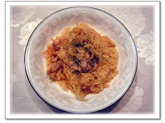 チキンビリヤニ(インド風炊き込みご飯)